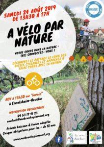 A vélo par nature ! @ RDV salle polyvalente d'Ernolsheim/Bruche