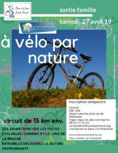 A vélo par nature ! @ Changement pour le RV - voir plus loin